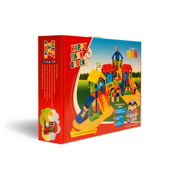 happy park blocks-بازی فکری پارک بلوک های شاد 2
